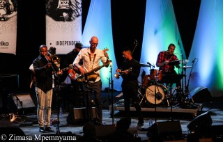 The Buddy Wells sextet at the 18th annual Cape Town International Jazz Festival